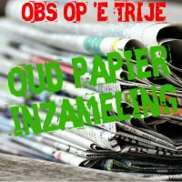 Oud papier O.B.S. Op 'e Trije